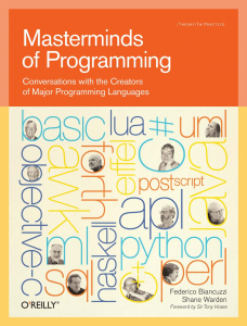 Masterminds of Programming book cover